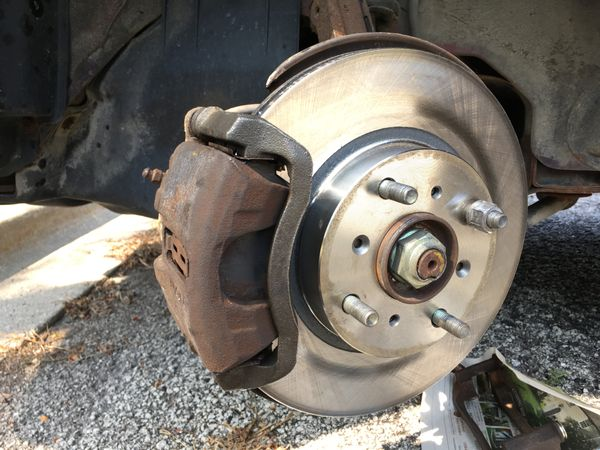 Repairing brakes on a 1988 Acura Legend